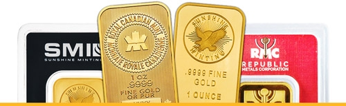 Buy Gold Online | Gold Bullion, Coins & Bars | Silver Gold Bull Canada