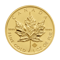 1 oz Vilkårlig år, Canadian Maple Leaf Gullmynt