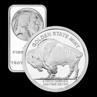 5 oz sortiertes reines Silber