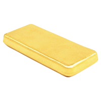 1/10 g Silver Gold Bull Aurum Gold Thin Wafer