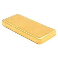 1 oz Johnson Matthey Blank Back Gold Bar