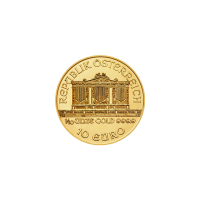 1/10 oz Random Year Austrian Philharmonic Gold Coin