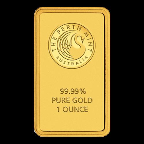 Perth-Prägeanstalt Logo - 9999 - reines Gold - 1 Unze