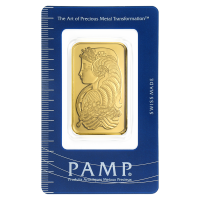 1 oz PAMP Suisse Gold Wafer
