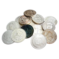 1 oz Assorted Silver Round
