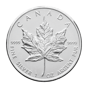 1 oz Random Year Canadian Maple Leaf Silver Coin