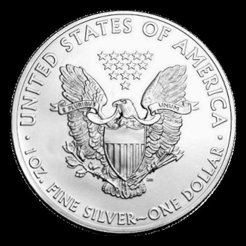 1 oz Random Year American Eagle Silver Coin