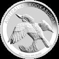 1 كغ | كلوغرام 2011 من العملات الفضية الخاصة بطائر كوكابورا الأسترالي