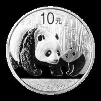1 oz Silbermünze - chinesischer Panda - 2011