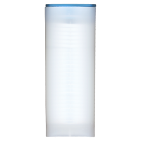 Empty Light Blue Lid Tube for 3/4 oz to 1.5 oz RCM Silver Coins