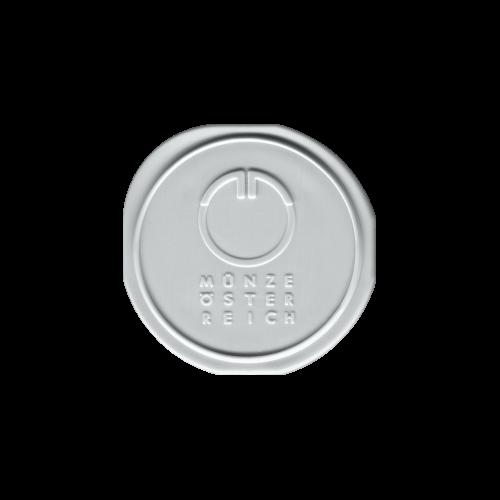 Leere Röhre für 1 oz Wiener Philharmoniker Silbermünzen