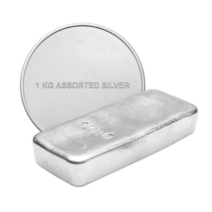 1 kg | kilo Rent Assortert Sølv Bullion