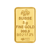 5 g PAMP Suisse Gold Bar