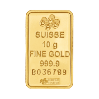 10 g PAMP Suisse Gold Bar
