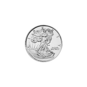 1/10 oz Walking Liberty Silver Round