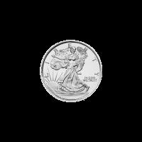 1/10 oz Silbermedaille - Walking Liberty (gehende Freiheit)