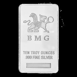 Stříbrný slitek New BMG 10 oz
