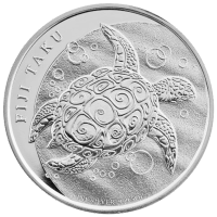 2 oz 2017 Royal Mint Queen's Beasts | Red Dragon of Wales Silver Coin