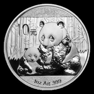 Pièce d'argent Panda chinois 2012 de 1 once