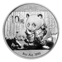 1 oz 2012 Chinese Panda Silver Coin