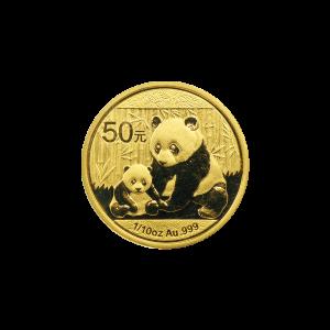 1/10 oz 2012 Chinese Panda Gold Coin