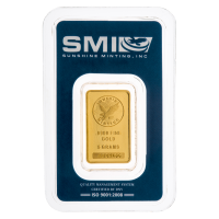 5 gram Sunshine Mint Gold Bar