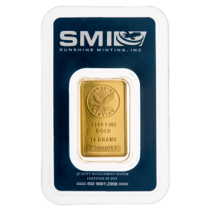 10 g Sunshine Mint Gold Bar