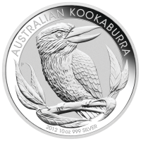 10 oz 2012 Australian Kookaburra Silver Coin