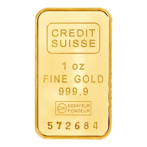 1 oz Credit Suisse Gold Bar