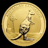 מטבע גוש זהב גולמי של קנגורו אוסטרלי משקל אונקיה