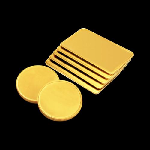 1/2 oz schweres ausgewähltes Gold