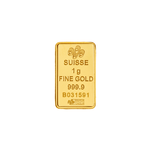 1 g PAMP Suisse Gold Bar