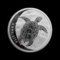 Pièce d'argent Fiji Taku 2012 de 1/2 once