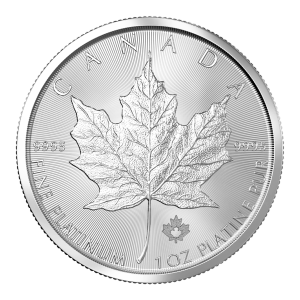 1 oz Random Year Canadian Maple Leaf Platinum Coin
