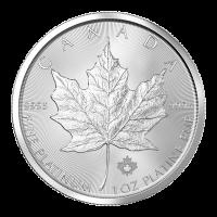 1 oz Platinmünze - kanadisches Ahornblatt - Zufallsjahr