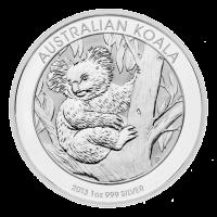 1 oz australische Silbermünze - Koala - 2013