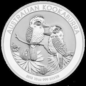 10 oz 2013 Australian Kookaburra Silver Coin