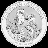 10 oz australische Silbermünze - Kookaburra - 2013
