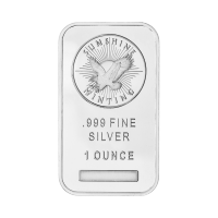 1 oz Sunshine Mint Silver Bar