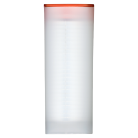 Empty Orange Lid Tube for 3/4 oz to 1.5 oz RCM Silver Coins