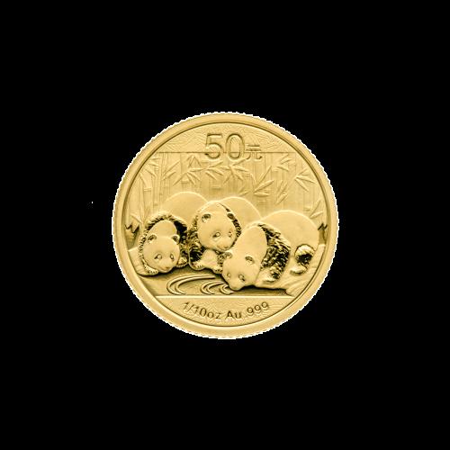 1/10 oz 2013 Chinese Panda Gold Coin