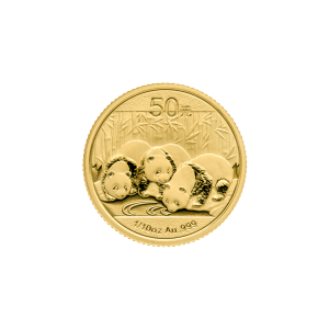 1/10 oz 2013 Chinese Panda Gold Coin