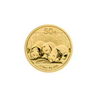 1/10 oz chinesische Goldmünze - Panda - 2013
