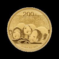 1/2 oz 2013 Chinese Panda Gold Coin