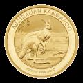 Pièce d'or en forme de pépite Kangourou australien 2013 de 1 once