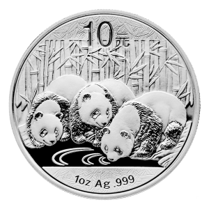1 oz 2013 Chinese Panda Silver Coin
