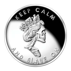 1 oz Slave Queen Silver Proof-like Round