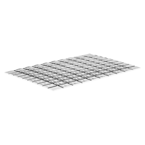 100 g (100 x 1 g) Silber Kombinationsbarren - Valcambi