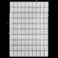 100 g (100 x 1g) Valcambi Zilveren CombiBaar
