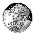 1 oz 2013 Freedom Girl Silver Proof-like Round